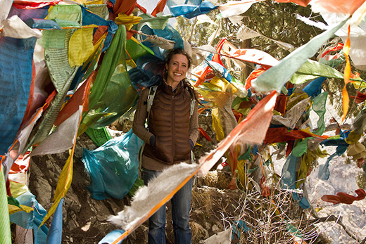 Tawni Tidwell's Research in Tibetan Medicine Featured in Emory News