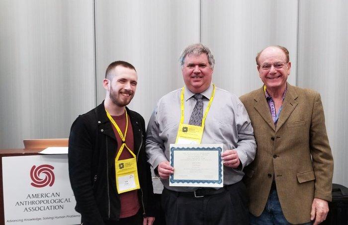 Erik Ringen is awarded H. Russel Bernard Graduate Student PaperPrize